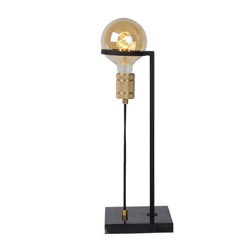 Lampe de table Lucide Ottelien noire E27