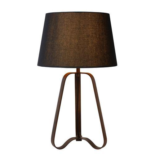 Lucide tafellamp Capucino roest bruin E27