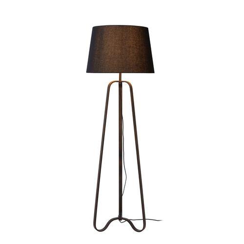 Lucide vloerlamp Capucino roest bruin E28