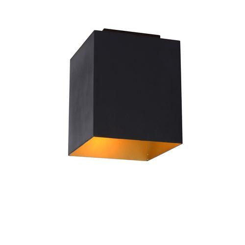 Lampe de table Lucide Suzy noire carrée E15