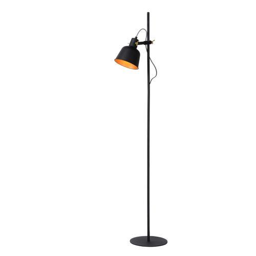 Lucide vloerlamp Pia zwart E27