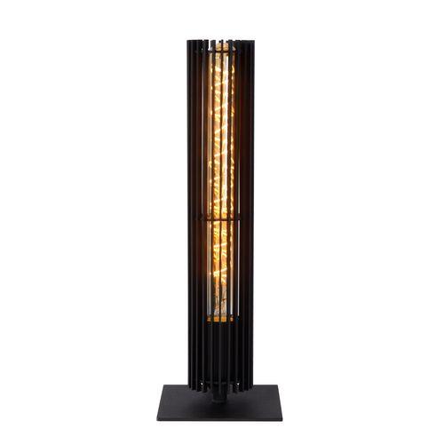 Lucide tafellamp Lionel zwart E28