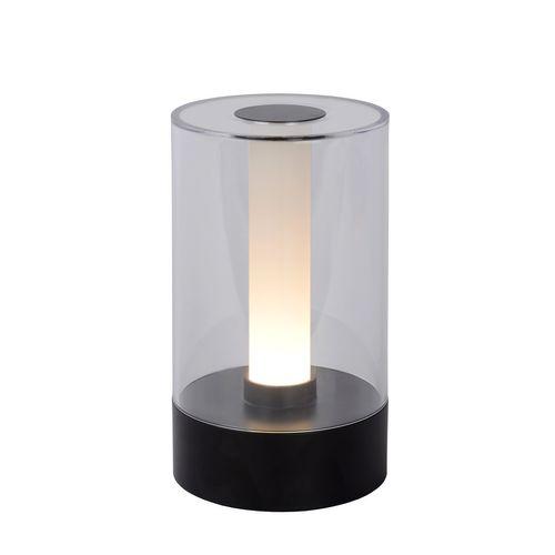 Lucide tafellamp LED Tribun zwart 3W