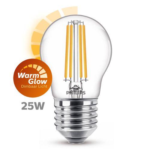 Philips LED kogellamp 3,2W E27