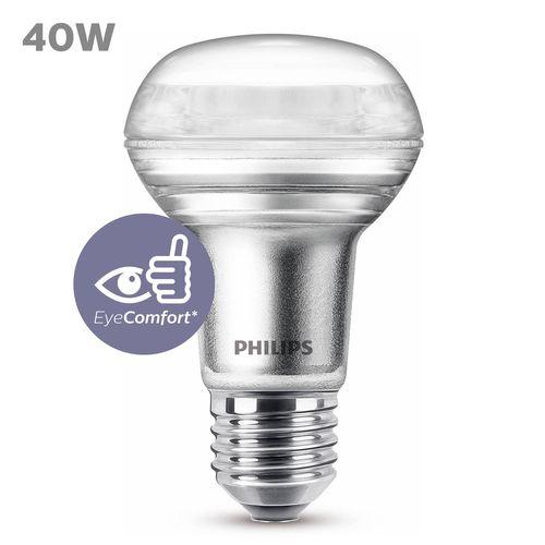Réflecteur LED Philips blanc chaud E27 3W