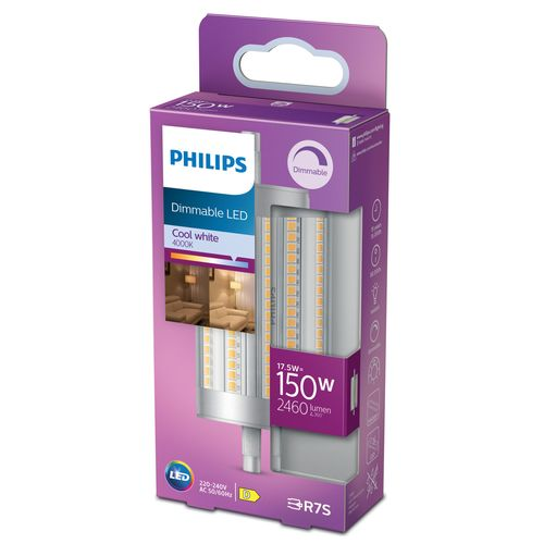 Philips LED staaflamp R7S 17,5W koel wit