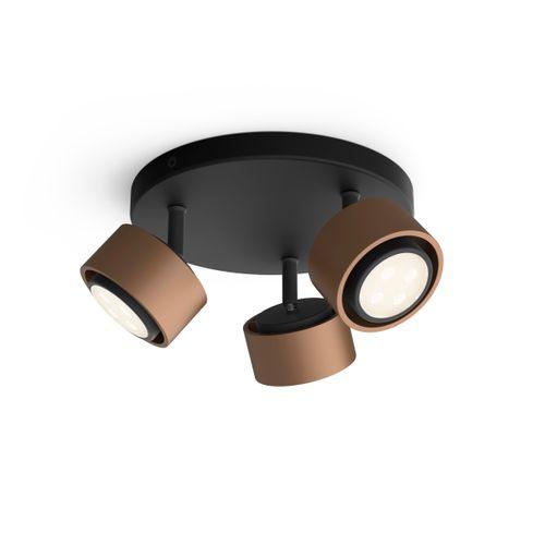 Philips spot LED Ferano koper 3x4,3W