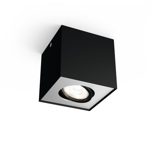 Spot Philips LED Box noir 4,5W