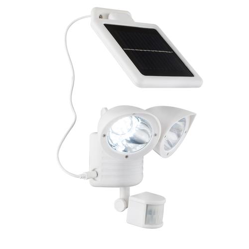 Lampes solaires Globo LED avec détecteur blanc 0,06W