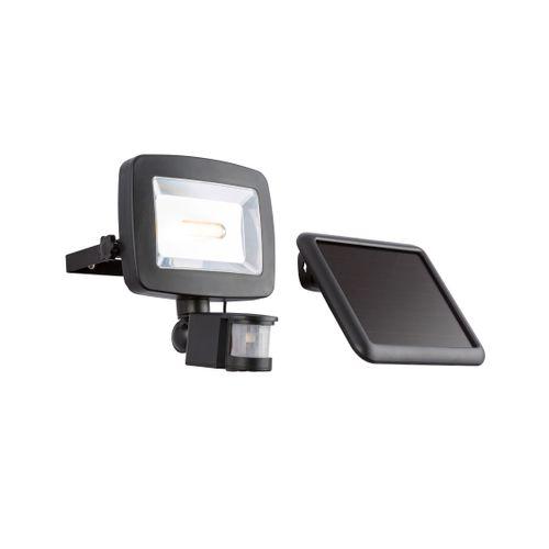Globo solair projecteur LED avec détecteur noir 3W