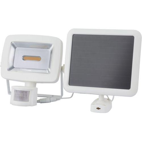 Globo solar straler LED met sensor wit 3W