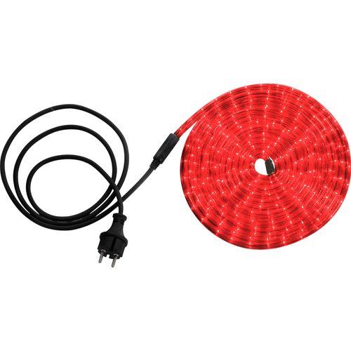 Globo lichtsnoer Light Tube LED rood 6m