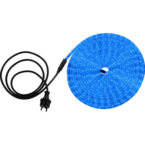 Globo lichtsnoer Light Tube LED blauw 9m