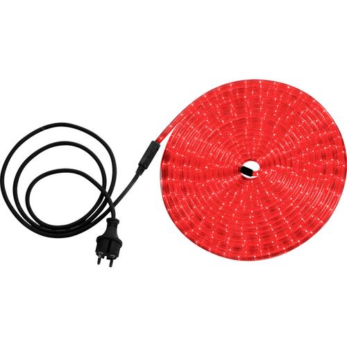 Globo lichtsnoer Light Tube LED rood 9m