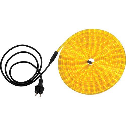 Globo lichtsnoer Light Tube LED geel 9m