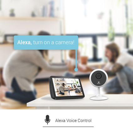 Ezviz C1C  indoor beveiligingscamera 720p + nachtzicht