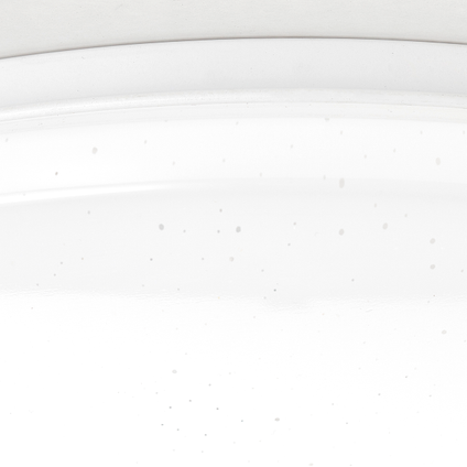 Plafonnier LED Brilliant Farica Starry blanc 36W