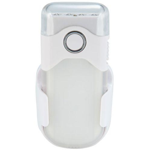 Alecto oplaadbare LED zaklamp/automatisch LED nachtlampje wit