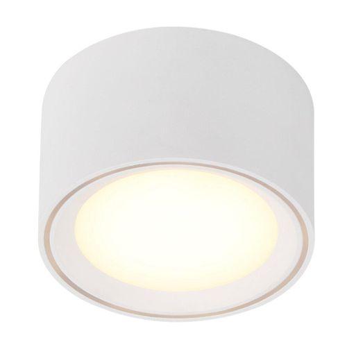 Nordlux plafondlamp Fallon wit 6cm 8,5W