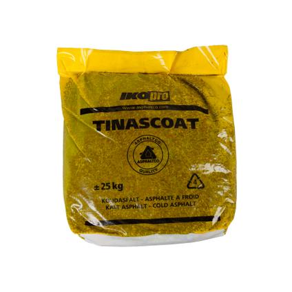 Maintien d'asphalte IKO Pro Tinascoat 0/5 25 kg
