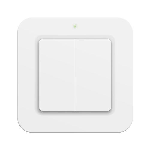 KlikAanKlikUit draadloze enkelvoudige/dubbele wandschakelaar