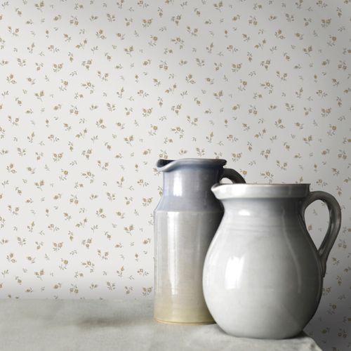 Papier peint intissé Blooming garden 7830 crème