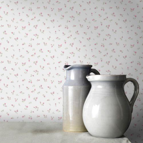 Papier peint intissé Blooming garden 7831 crème
