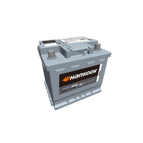 Hankook AGM startaccu 12V 50AH 540A EN S:0 P:1 B13 L01