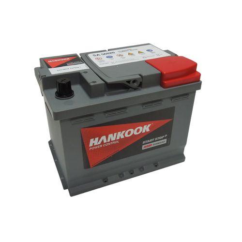 Hankook AGM startaccu 12V 60AH 680A EN S:0 P:1 B13 L02