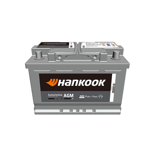 Hankook AGM startaccu 12V 70AH 760A EN S:0 P:1 B13 L03
