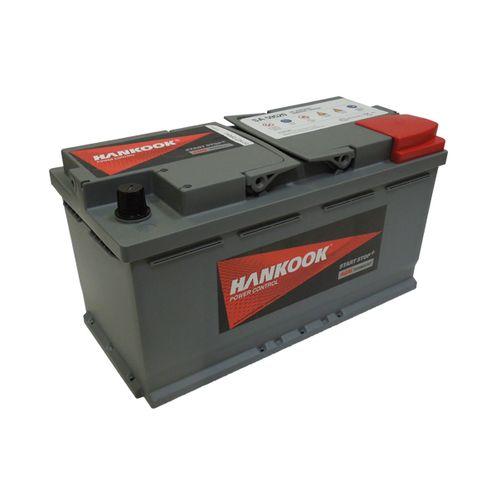 Hankook AGM startaccu 12V 95AH 850A EN S:0 P:1 B13 L05