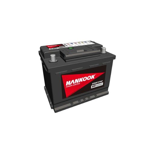 Hankook EFB startaccu 12V 60AH 560A EN S:0 P:1 B13 L02