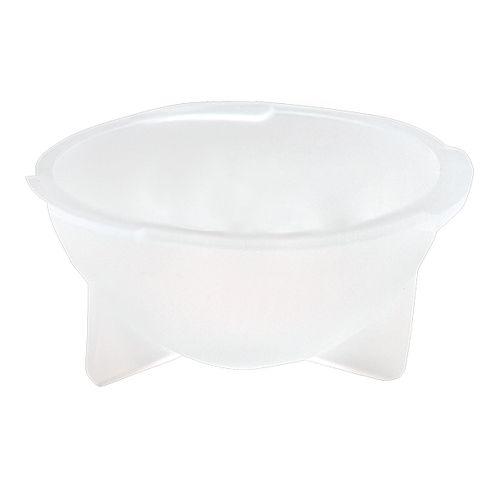 Bol de toilette transparent