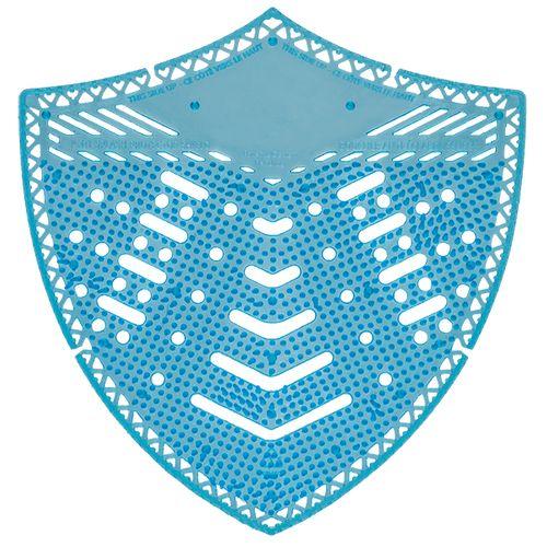 Tapis d'urinoir Edge Shield bleu parfum pin 10pcs