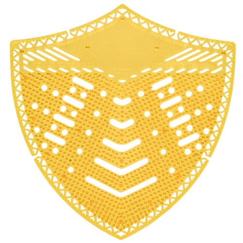 Tapis d'urinoir Edge Shield jaune parfum mangue 10pcs