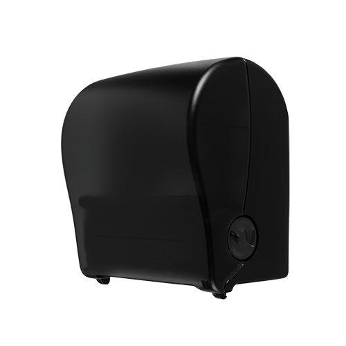 Distributeur de rouleaux de serviettes Edge Autocut noir