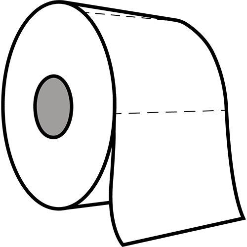 Edge toiletpapier tweelaags cellulose 400 vellen 40stuks