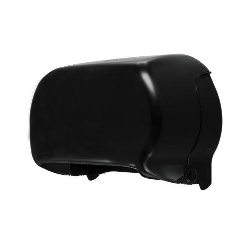 Edge toiletpapierdispenser Twin Coreless zwart