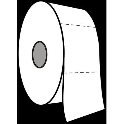 Edge toiletpapier Mini Jumbo tweelaags cellulose 12x180m