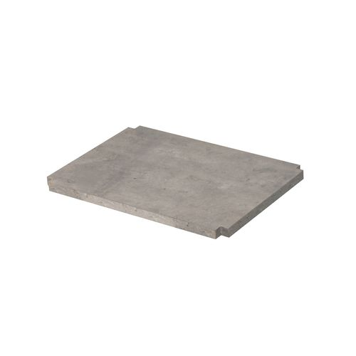 Aquazuro plank Napoli 40cm betongrijs