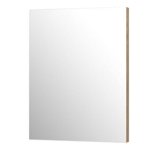 Aquazuro rechthoekige spiegel Napoli 60cm as grijze eik