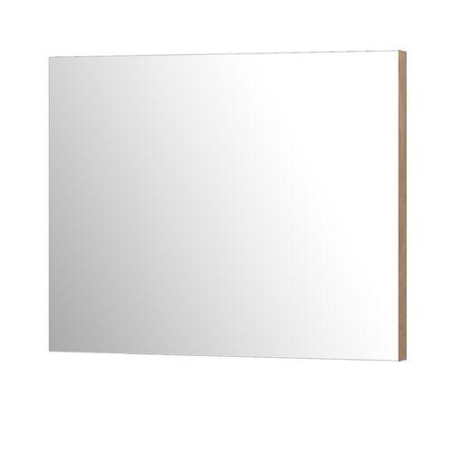 Miroir Aquazuro Napoli rectangulaire chêne gris cendré 90cm