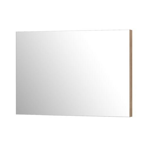 Aquazuro rechthoekige spiegel Napoli 120cmas grijze eik