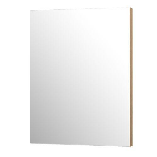 Aquazuro rechthoekige spiegel Napoli 60cm scandinavische eik