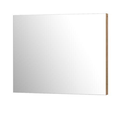 Aquazuro rechthoekige spiegel Napoli 90cm scandinavische eik