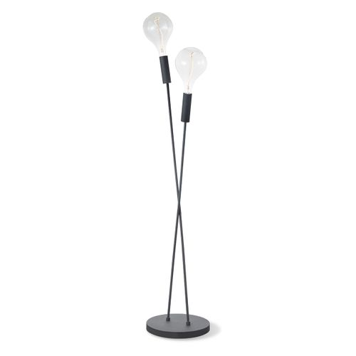 Home Sweet Home lampadaire Twint laiton E27