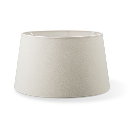 Abat-jour Home Sweet Home Melrose rond blanc chaud 45cm