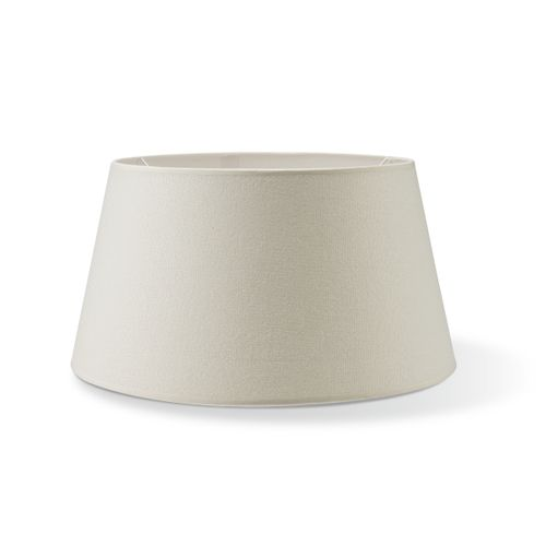 Abat-jour Home Sweet Home Melrose rond blanc chaud 35cm