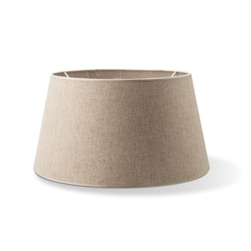 Abat-jour Home Sweet Home Melrose rond taupe 35cm