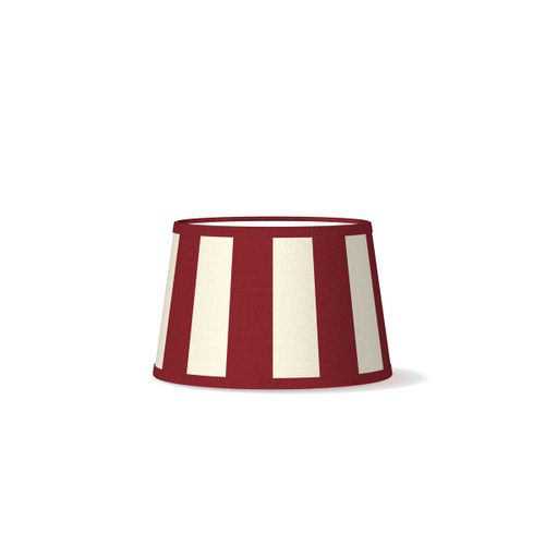 Abat-jour Home Sweet Home Classic rouge 20cm